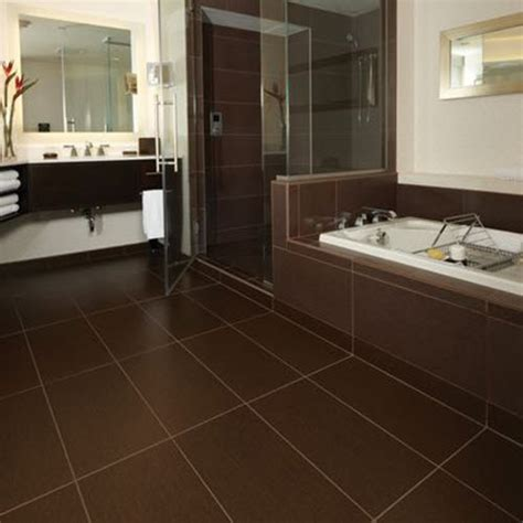 brown bathroom tile 37 chocolate brown bathroom floor tiles ideas and pictures