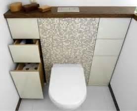 stauraum badezimmer die besten 17 ideen zu g 228 ste wc auf wc im