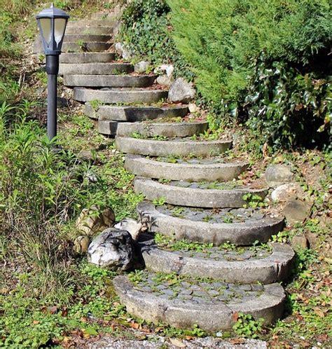 Stufen Im Garten Anlegen gartentreppe anlegen ideen tipps zu bau und gestaltung
