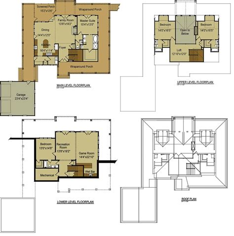 Home Plans With by 2 Bedroom Cabin With Loft Floor Plans Idea House Plan