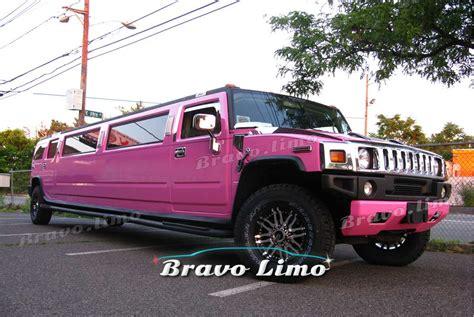 hummer limousine pink pink hummer h2 limo bravo limo