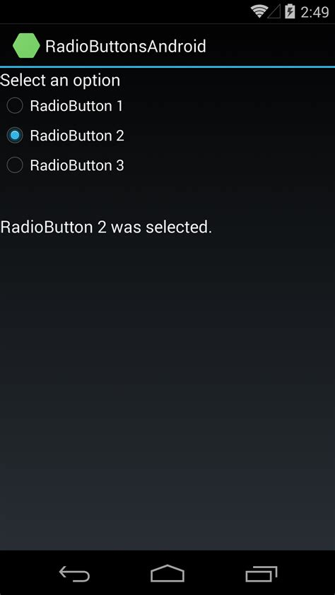 xamarin spinner tutorial adding radio buttons to an android app with xamarin