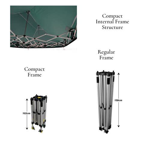 compact gazebo 3m x 3m easifold standard compact gazebo compact pop up