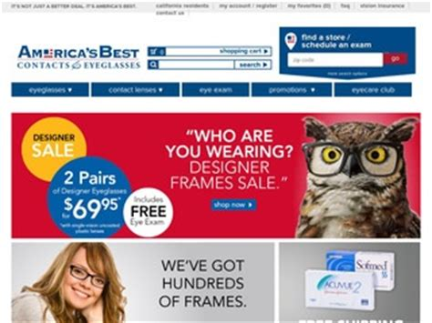 america s best contacts eyeglasses 2 5 by 6