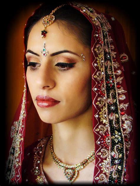 indian bridal hairstyles and makeup wedding style brides in high resolution