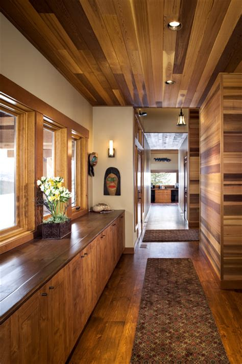 Western Cabinets Boise by Hallway Eclectic Boise By Hendricks Architecture