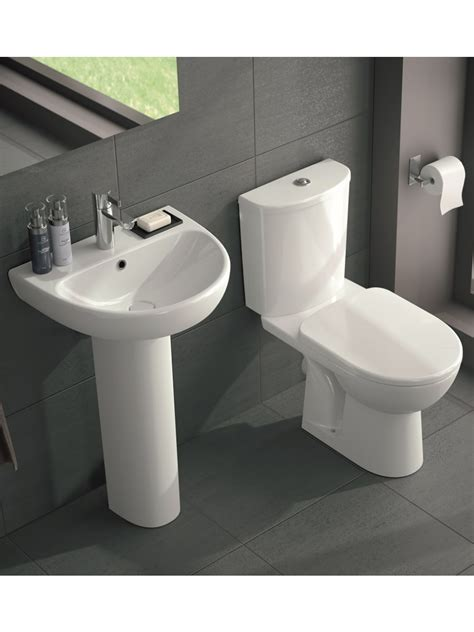 wash basin toilet toilet and wash basin sets twyford e100 round toilet and