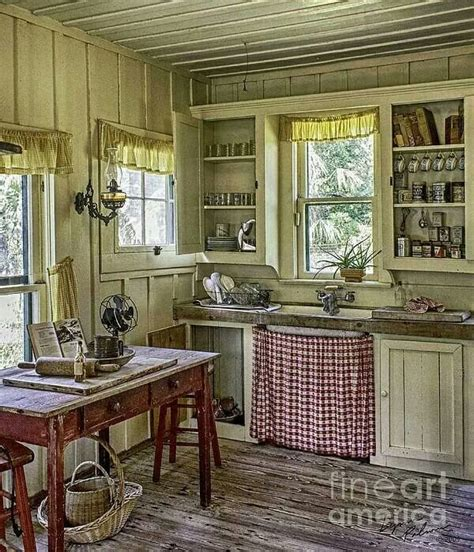 old country kitchen an old country kitchen inside the home pinterest
