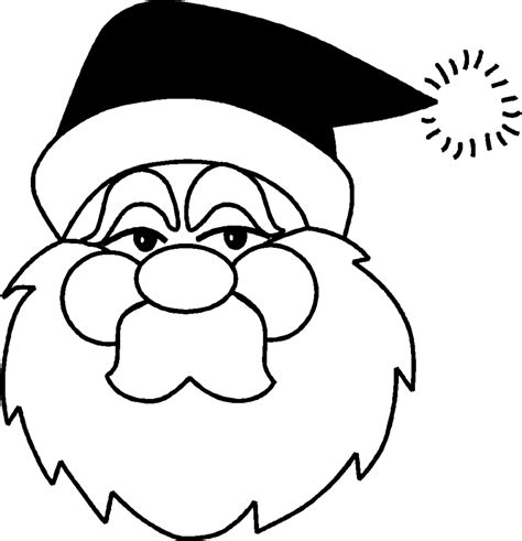 Toddler Christmas Coloring Pages Coloring Home Easy Coloring Pages Santa