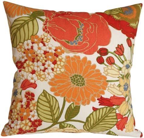 Floral Pillows by Pottery Barn Floral Outdoor Throw Pillow From Pillow Decor