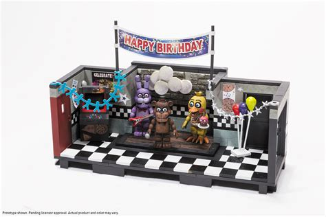 mcfarlane five nights at freddy s construction sets the
