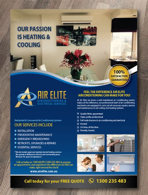 Air Conditioning Flyer Templates
