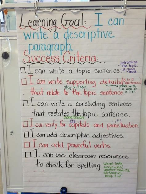 libro target grade 3 writing 25 best ideas about success criteria on learning targets learning goals display