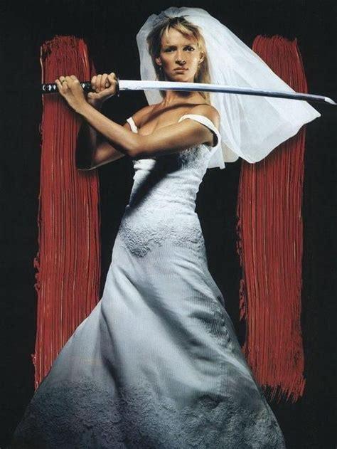 Uma Thurmans Wedding by Uma Thurman As The Kill Bill Quentin Tarantino
