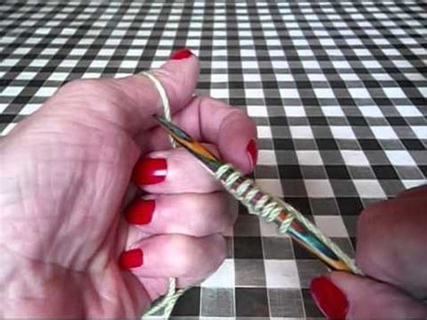 how to cast on thumb method knitting how to knit how to cast on using the thumb method