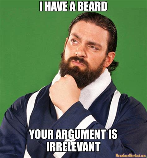 Beard Meme - your daily funny beard supremacy allnerdity
