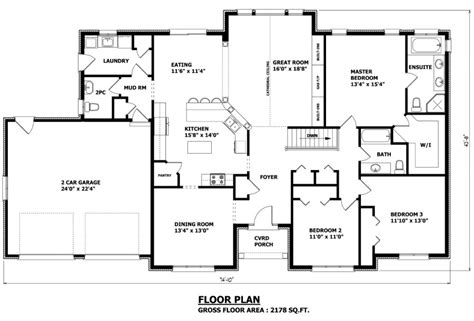 bungalow house plans alberta
