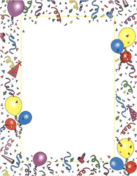 printable poster board borders party poster board 39413 geographics