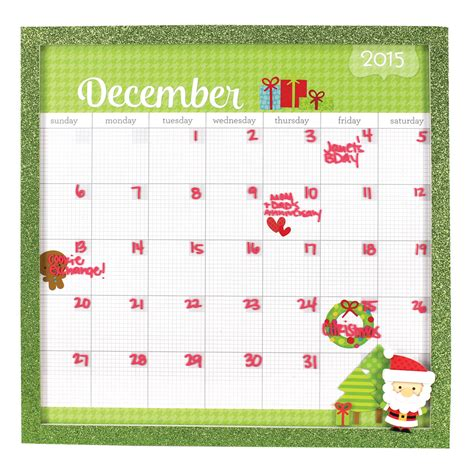 doodlebug calendar framed doodlebug calendar board crafts direct