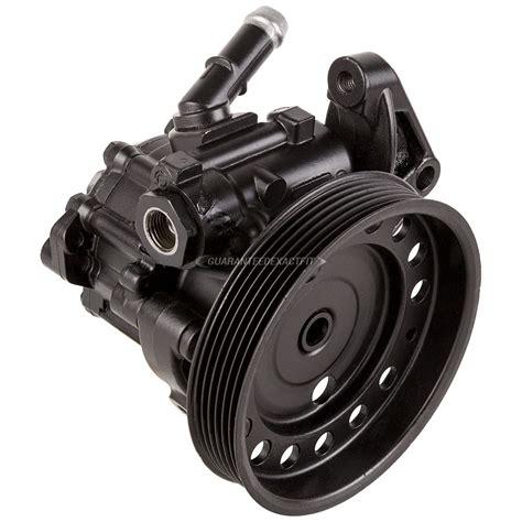 volvo xc power steering pump  engine