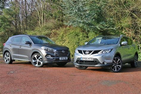 Hyundai Vs Nissan by Hyundai Tucson Vs Nissan Qashqai Nissan Rogue Sport Forum