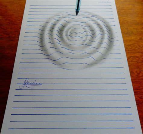 keren inilah teknik menggambar 3d gambar seperti keluar dari kertas cerpin