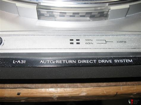 Sepaker Advance A31 jvc l a31 direct drive tt photo 420118 canuck audio mart
