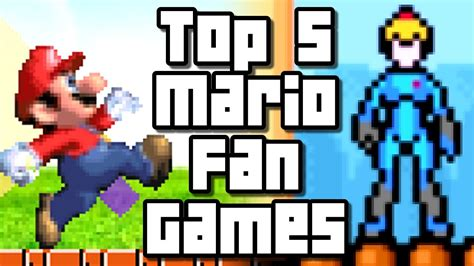 super mario fan games super mario top 5 fan games pc youtube