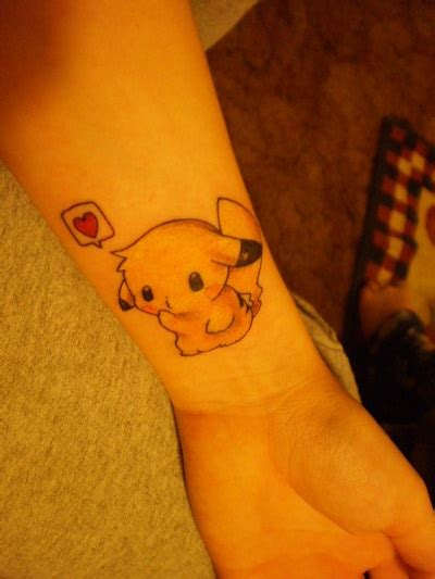 cute first tattoos pikachu tattoos jersey