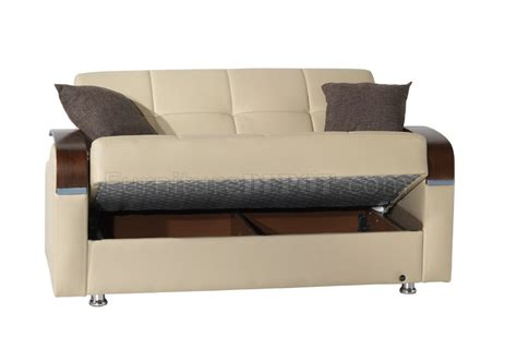 beige leather sofa bed soho sofa bed in beige bonded leather by rain w optional items