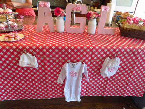 Bbq Baby Shower Decorations by Ba By Q Shower Co Ed Barbecue Themed Baby Shower News