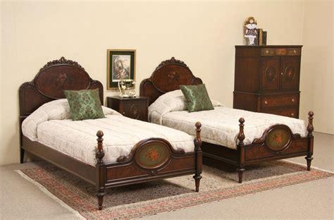 1920s bedroom set sold berkey gay 1920 bedroom set twin beds