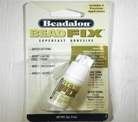 bead fix glue inventory glue resin beadalon bead fix 3gram glue