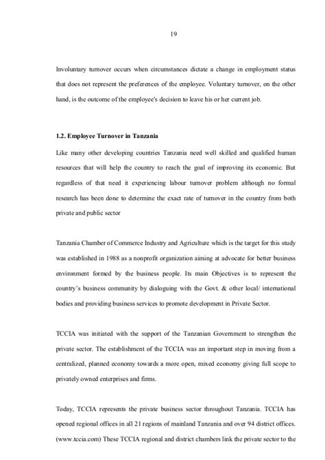 Involuntary Turnover Essay by 237750650 Labour Turnover