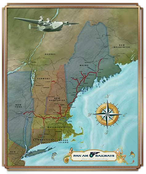 map customizer custom map for pan am railways