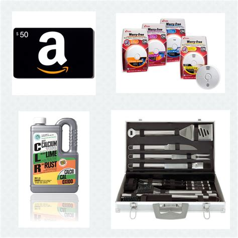 Home Improvement Giveaways - spring cleaning and home improvement prize package 50 amazon gift card kidde and