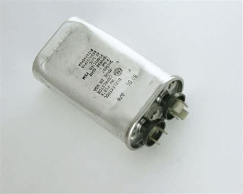 ge motor run capacitor 21l3007 ge capacitor 7 5uf 370v application motor run 2020005912