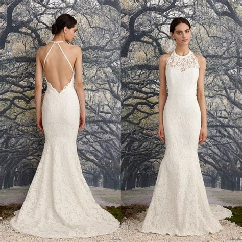 Halter Neck Wedding Dress by 35 Fantastic Ideas Of Mermaid Wedding Dresses You Won T Be