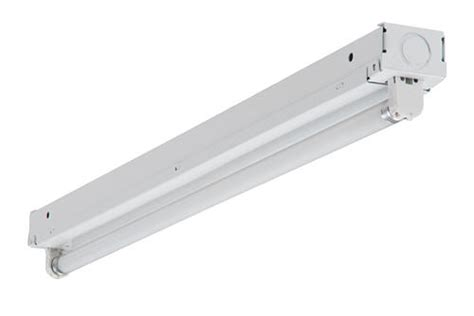 menards fluorescent light fixtures metalux 174 22 quot white t5 l mini fluorescent strip light at