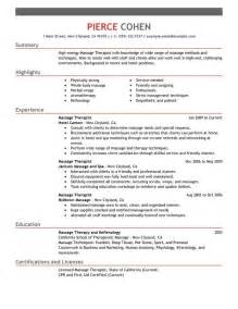 therapist description for resume recentresumes