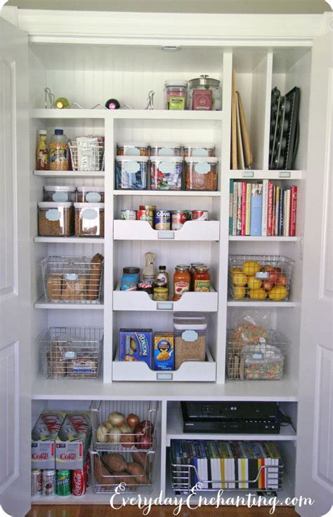 Organizing A Pantry With Wire Shelves by Best 25 Pantry Closet Ideas On