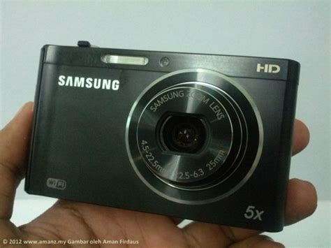 Kamera Samsung Wifi Pandang Pertama Kamera Samsung Dv300f Dengan Sokongan Wifi Amanz