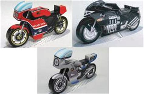 Papercraft Motorcycle - july 2008 papercraft paradise papercrafts paper