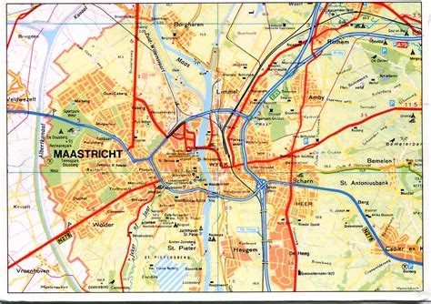 netherlands highway map maastricht netherlands map remembering letters and