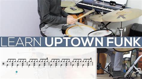 drum tutorial for uptown funk uptown funk drum tutorial video lesson youtube