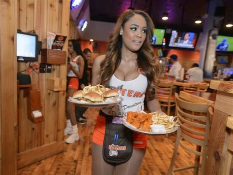 Kitchen Islands Atlanta hooters tries surviving middle age with makeover