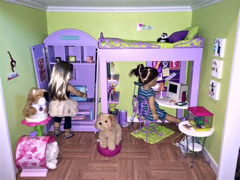 ag doll room 122 best images about diy dollhouse rooms for american dolls on 2nd floor