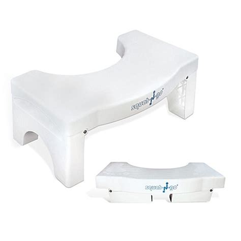 Toilet Stool Bed Bath And Beyond by Squat N Go 7 Inch Foldable Toilet Stool Bed Bath Beyond