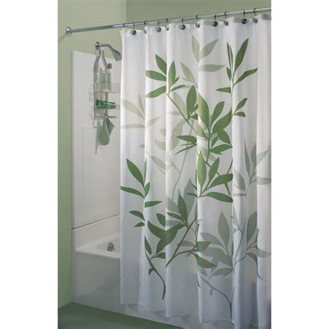 green leaf shower curtain interdesign leaves shower curtain shower curtains
