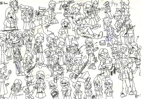 Drawing 1 Class by Class Drawing By Katantoon On Deviantart